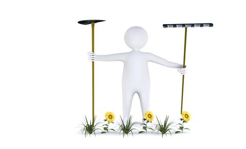 green-garden-tools